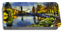 Fall In Riverfront Park Spokane Portable Battery Charger