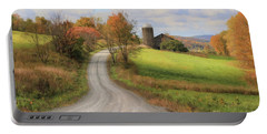 Fall In Rural Pennsylvania Portable Battery Charger by Lori Deiter