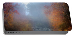 Fall In The Fog Portable Battery Charger