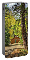 Fall In The Forest Portable Battery Charger