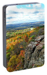 Portable Battery Charger featuring the photograph Fall In The Mountains by Kathy Baccari