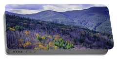 Fall In The White Mountains Portable Battery Charger