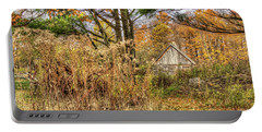 Fall In The Woods Portable Battery Charger