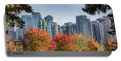 Fall In Vancouver Portable Battery Charger