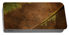 Fall Leaf Portable Battery Charger