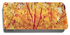 Fall Leaves #1 Portable Battery Charger