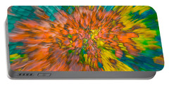 Fall Leaves Zoom Abstract Portable Battery Charger