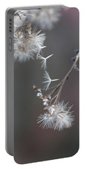 Portable Battery Charger featuring the photograph Fall - Macro by Jeff Burgess