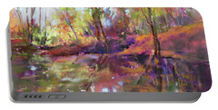 Fall Millpond Portable Battery Charger