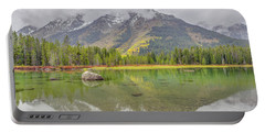 Fall Morning Along String Lake Portable Battery Charger