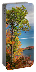 Portable Battery Charger featuring the photograph Fall Oak Tree by Elena Elisseeva