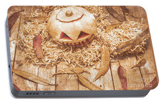 Fall Of Halloween Portable Battery Charger by Jorgo Photography - Wall Art Gallery