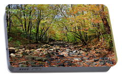 Portable Battery Charger featuring the photograph Fall On Clifty Creek by Paul Mashburn
