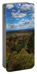 Fall On Four Mile Road Portable Battery Charger by Jason Coward