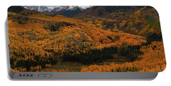 Fall On Full Display At Capitol Creek In Colorado Portable Battery Charger by Jetson Nguyen