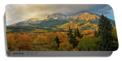 Fall On Mt Sopris  Portable Battery Charger