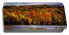 Fall On Springfield Lake Portable Battery Charger
