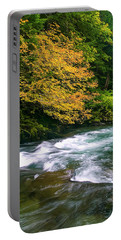 Fall On The Clackamas River, Or Portable Battery Charger