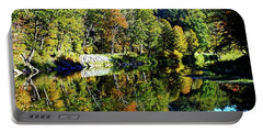 Fall On The Ottauquechee River Portable Battery Charger