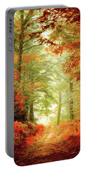 Fall Painting Portable Battery Charger