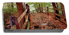Fall Pathway Portable Battery Charger