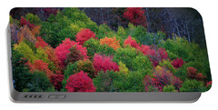 Fall Poppers Portable Battery Charger