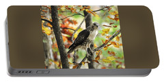 Fall Red-tailed Hawk Portable Battery Charger