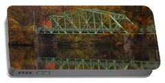 Fall Rocks Village Bridge Portable Battery Charger