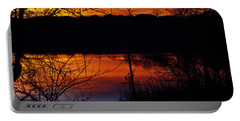 Fall Sunset Portable Battery Charger