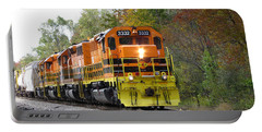 Fall Train In Color Portable Battery Charger