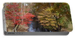Portable Battery Charger featuring the photograph Fall Transition by Eric Liller