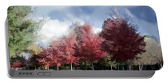 Fall Trees In Tennessee Portable Battery Charger