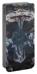 Portable Battery Charger featuring the painting Fallen 2 by Cheryl Pettigrew