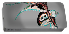 Portable Battery Charger featuring the digital art Fallen Angel by Mariella Wassing