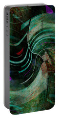 Portable Battery Charger featuring the digital art Fallen Angle by Sheila Mcdonald