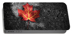 Fallen Leaf Portable Battery Charger