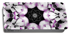 Portable Battery Charger featuring the digital art Fallen Star by Shawna Rowe