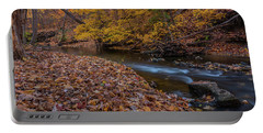 Fall In Michigan 1 Portable Battery Charger