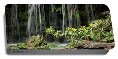Falling Falls In The Garden Portable Battery Charger