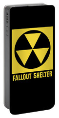 Fallout Shelter Sign Portable Battery Charger