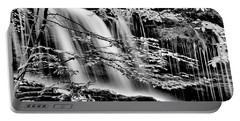 Falls And Trees Portable Battery Charger by Paul W Faust - Impressions of Light