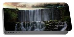 Falls At Mirror Lake Portable Battery Charger