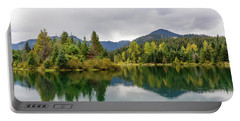 Falls Colors In Gold Creek Pond Portable Battery Charger