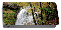 Falls In Autumn Portable Battery Charger