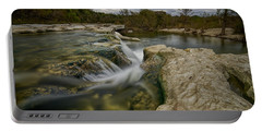 Texas Hill Country Falls Portable Battery Charger