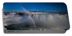 Falls Misty Rainbow  Portable Battery Charger