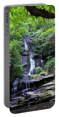 Falls Near Bryson City Portable Battery Charger