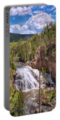 Portable Battery Charger featuring the photograph Falls Of The Gibbon by John M Bailey