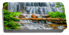 Portable Battery Charger featuring the photograph Falls On Sable Creek by Nick Zelinsky