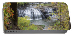 Falls Through The Trees Portable Battery Charger